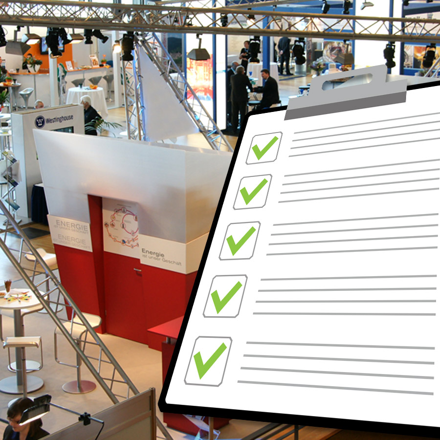 Messe Checkliste