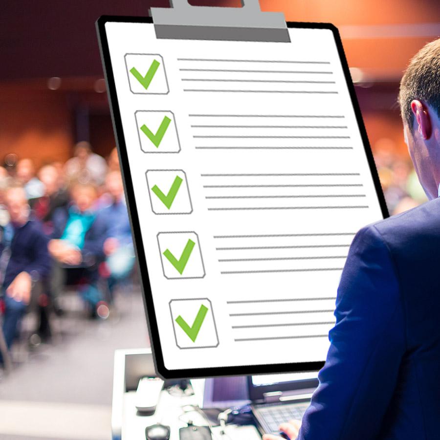 Seminar Checkliste