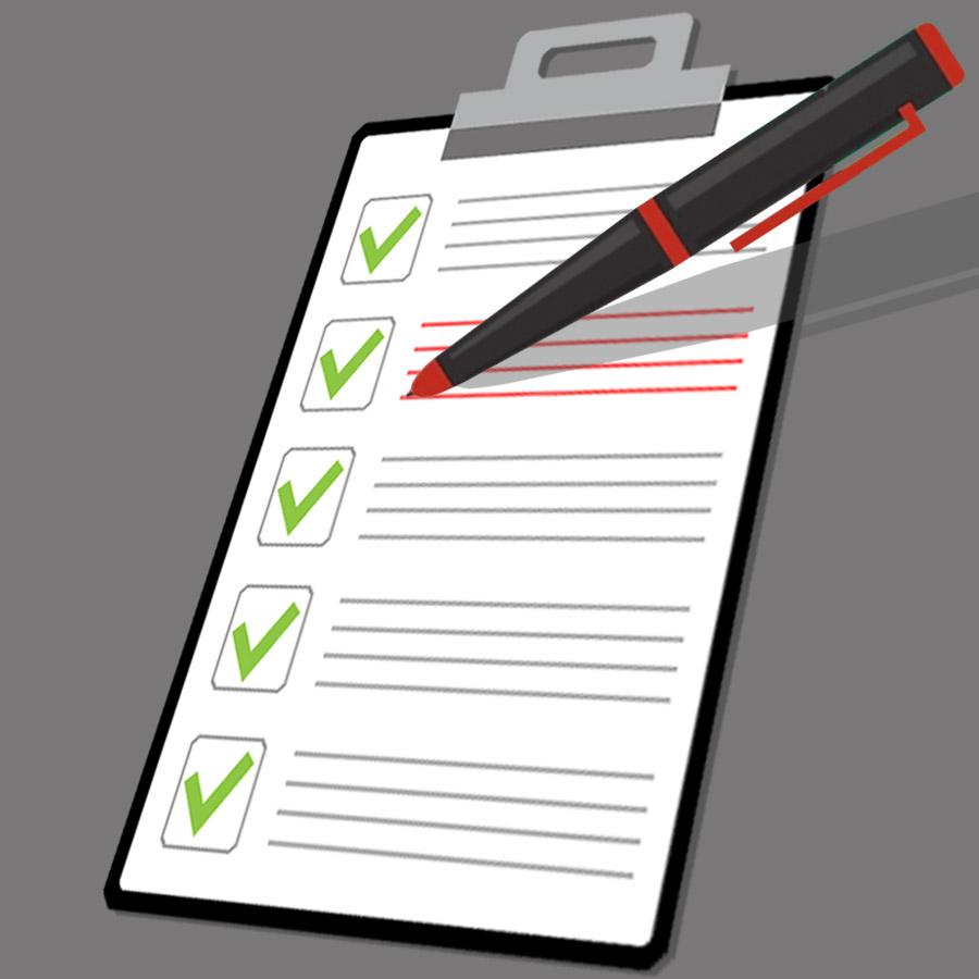individuelle Checkliste
